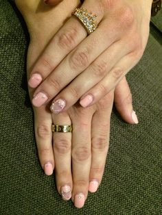 Nail art for Valentine's day by Monalisa