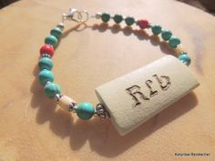 Cherokee Language Beloved Grandmother Turquoise by SoulfulStuff, $15.00