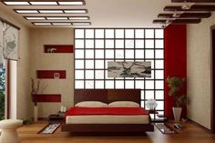 Japanese room decor japanese style room japanese room decor intended for japanese style decor decorating interior: japanese bedroom decor incredible homes Japanese Bedroom Decor, Asian Bedroom, Japanese Living Rooms, Home Bedroom, Bedroom Ceiling, Master Bedrooms, Bedroom Furniture, Contemporary Bedroom, Modern Bedroom