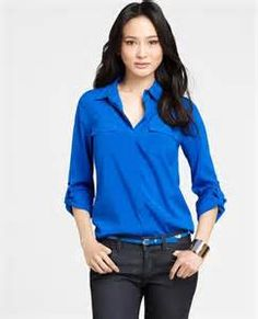 blue blouses/tops - Bing Images
