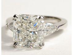 Classic Pear Shaped Diamond Engagement Ring #BlueNile