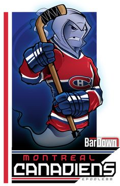 BarDown: NHL Cartoon Mascots: Bonus Edition