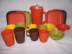 1970s Vintage Tupperware Toys Mini Serve It Child's Kitchen Dishes Play Set   eBay