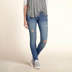 Girls Hollister Ryan Super Skinny Jeans | Girls Bottoms | HollisterCo.com