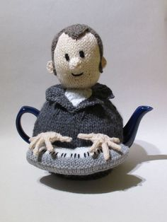 Music Man Tea Cosy Knitting Pattern by TeaCosyFolk on Etsy: