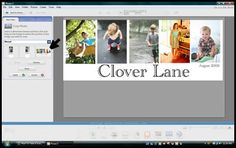how to make a blog header in Picasa- great tutorial!