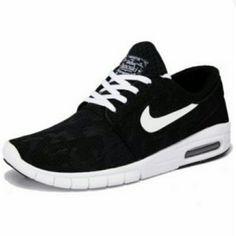low priced 58eaa ff6fe Men s Nike SB Stefan Janoski Max Black White Nike Janoski Max, Wholesale  Shoes,
