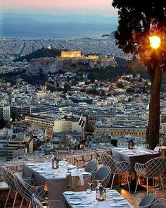 Goodnight from the beautiful Acropolis and sunset in Athens tonight. The Places Youll Go, Places To See, Mexico Travel, Greece Travel, Greek Islands, Places To Travel, Countryside, The Good Place, Beautiful Places