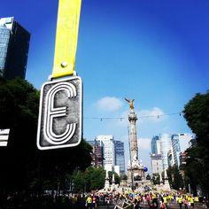 Medio Maratón de la Ciudad de México @ México DF, México #HastaLaMetaSiempre