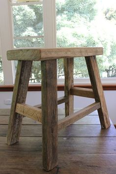 """Rabbit Trap Timber"" - pilgrim stool plain"