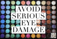 While we're busy trying to look our best, we often fail to realize that some products can do more harm than good. For tips on how to avoid serious eye damage caused by eye makeup, check out our latest blog!  #skincare #skintips #makeup #makeuptips #skindamage #eyeshadow #mascara #eyeliner #bacterialinfection #conjuntivitus #dryeyes #eyedamage