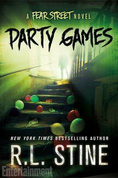 Party Games by R.L. Stine | Series - Fear Street <3 | Publisher: St. Martin's Griffin | Publication Date: September 30, 2014 | www.rlstine.com | #YA #Horror #Thriller