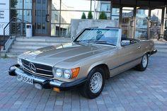 Mercedes-Benz SL 450SL V8, Aut.Clima, Lav KM, Meget pen 1980, 141 234 km, kr 166 000,-