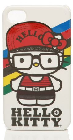 Hello Kitty Hipster iPhone 4G Case $30