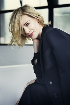 Everything Suits Her — shiny-shiny-girl:     Cate Photographed by Michele...