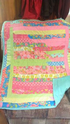 Second baby girl quilt ,together but not compleated