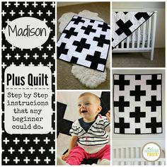 The Easiest Quilt in the World. FREE Step by Step Tutorial.