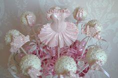 Tutu's and tiara's cakepops