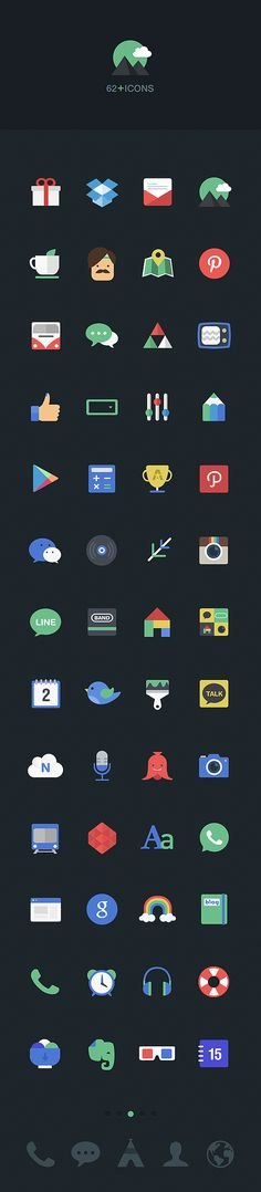 Dodol_GUI by SangJin Park, via Behance