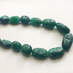 Emerald Beads Emerald Beryl Beads Emerald Beryl by gemsforjewels