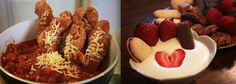 Simplified Valentine's Day Fondue for Two