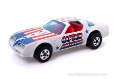 Captain America Hot Wheels Car