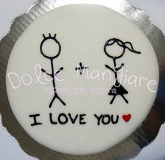 valentine's day cake idea / couple cake idea /    https://instagram.com/dolcemangiare/ https://twitter.com/dolcemangiare