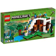 Free ship - lego minecraft the waterfall base - 21134 (new box) by LEGO Complete Sets & Packs category. - Use your Minecraft creativity and know-how to build the ul. Lego Minecraft, Construction Minecraft, Video Minecraft, Minecraft Buildings, Minecraft Party, Minecraft Skins, Legos, Figuras Wwe, Change