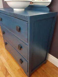 Door Furniture, Furniture Refinishing, Dresser, Doors, Red, Home Decor, Powder Room, Decoration Home, Room Decor