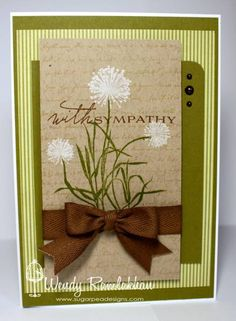 With Sympathy by Nin Nin - Cards and Paper Crafts at Splitcoaststampers