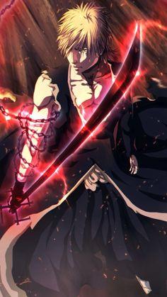 Kurosaki Ichigo - Digital Painting by Gray-Dous Manga Anime, Art Manga, Anime Guys, Anime Art, Ichigo Kurosaki Wallpaper, Ichigo Et Rukia, Bleach Fanart, Bleach Manga, Bleach Characters