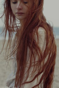 Imagen de girl, hair, and redhead