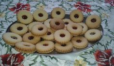 Linecké maslové koláče