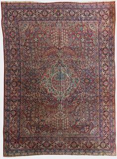Ravar Kerman, Persia, circa 1875, 9'10''x13'5''