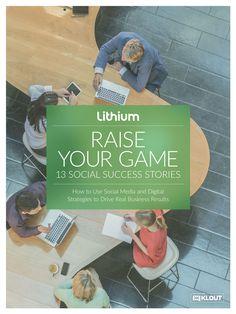 Raise Your Game eBook Digital Strategy, Raising, Effort, Behance, Success, Social Media, Technology, Baseball Cards, Games