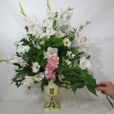 Wedding Flowers using Pink Alstromeria - Free Tutorial