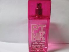Victoria's Secret Pink With A Splash Wild & Breezy All-Over Body Mist 8.4 oz by Victoria's Secret. $14.33. all over body mist -8.4 oz. New be wild with red guava and passion flower