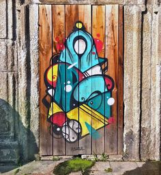 Portos Playfully Alluring Street Art: Chei Krew, Hazul, Costah, Hugo Sousa, Godmess, David Pintor and Justin Phame with Bella Amaral
