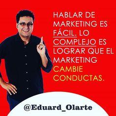 Hablar de marketing es fácil. Lo complejo es lograr que el marketing cambie conductas. #marketing #marketingcolombia #marketingpanama #estrategiademercadeo #publicidad #mercadeocolombia #marketingoutsourcing #marketingdigital #like4like #follow4follow