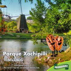 Ubicado en la Ciudad de Monclova, el parque Xochipilli está formado por dos parques teniendo entre ambos más 48 hectáreas verdes, lo cual lo hace el más grande del Estado de Coahuila. Sin duda un lugar digno de visitar con toda tu familia, acompañado de una rica botana de #Promanuez. http://www.promanuez.com.mx/productos #AliméntateSanamente 😉