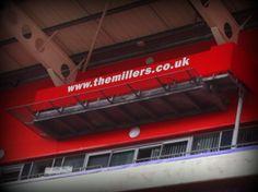 TV Gantry at Rotherham United FC