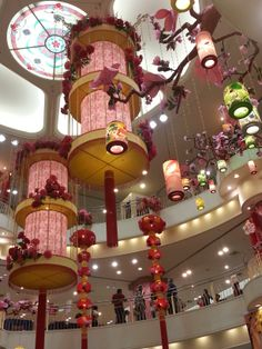 Chinese New Year Decoration in the year of 2013 ! =D
