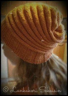 Wurm-pipo (ohje suomeksi) Knit Crochet, Crochet Hats, Beanie Hats, Knitted Hats, Knitting Patterns, Diys, Diy Crafts, Sewing, Handmade