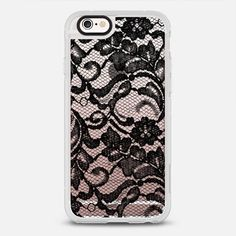 Black Lace iPhone 6s Case by Sweet Water Decor, LLC | Casetify