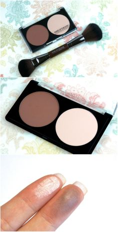 Make Up For Ever Sculpting Face Contour Kit and Sculpting Brush: Review and Swatches #makeup #beautytools #contouring