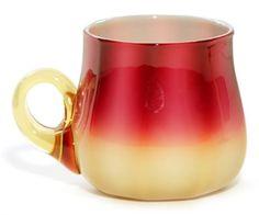 amberina glass | Plated Amberina | Amberina Glass | Pinterest