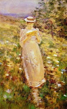 """""""Girl reading, 1893"""" 
