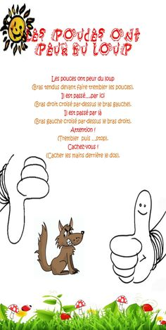 comptine loup - Recherche Google Petite Section, Circle Time Songs, Reading Club, Behaviour Management, Drawing Lessons, Learn French, Preschool Crafts, Recherche Google, Education