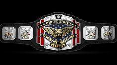 WWE US Championship Title Concept