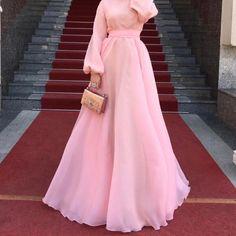 hijab dress 960 Likes, 4 Comments - Salam Agha Hijab Evening Dress, Hijab Dress Party, Hijab Style Dress, Hijab Wedding Dresses, Evening Dresses, Modest Fashion Hijab, Muslim Fashion, Fashion Dresses, Pink Dress Outfits